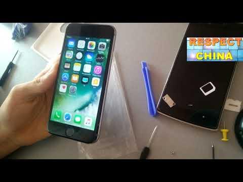 Iphone 6 - 6s нет сети или не принимает сим карту, что надо делать!- с Aliexpress!!!