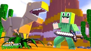 TIME TO TAME THE T-REX - Minecraft Dinosaurs w Little Lizard