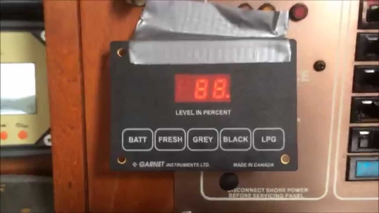 See Level 2 Tank Monitor 709 Review On Sailboat