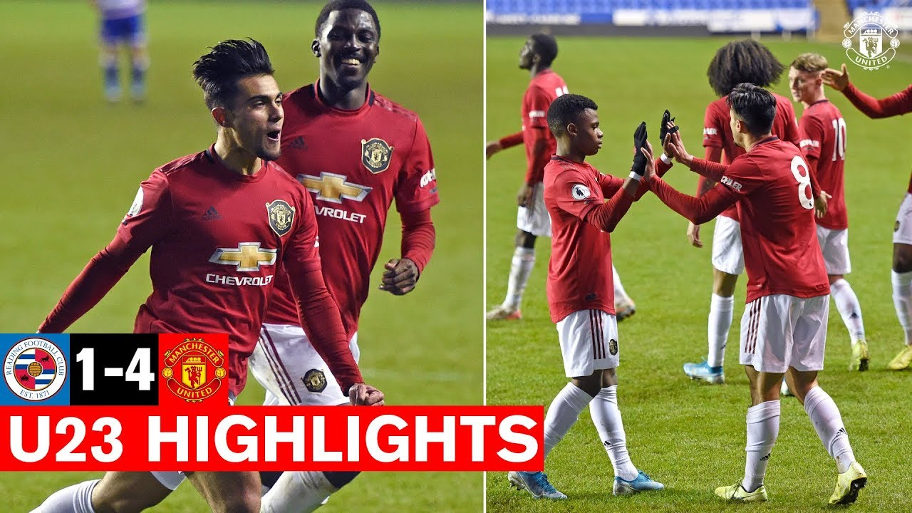 U23 Highlights Reading 1 4 Manchester United The Academy Youtube