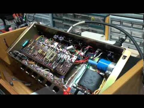 1968 Marshall plexi 50 Watt Output Transformer Change 2