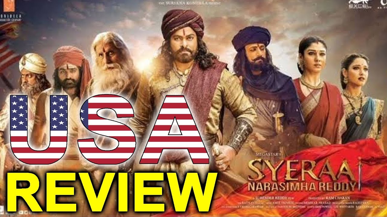 Sye Raa Narasimha Reddy Movie USA Premier Show  Review | Chiranjeevi Review | Top Telugu TV