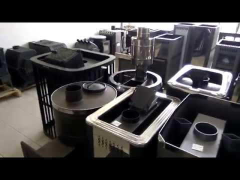 Магазин КРУТЫХ печей в Казани # Много печек с ЛЕГКИМ паром в одном месте