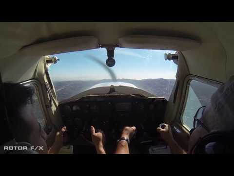 Eyrton Vega Discovery Airplane flight lesson at ROTOR F/X on October 22nd, 2016