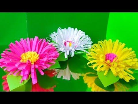 Цветы из бумаги цветок из бумаги цветы своими руками