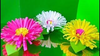 как сделать красивые цветы из бумаги своими руками видео оригами