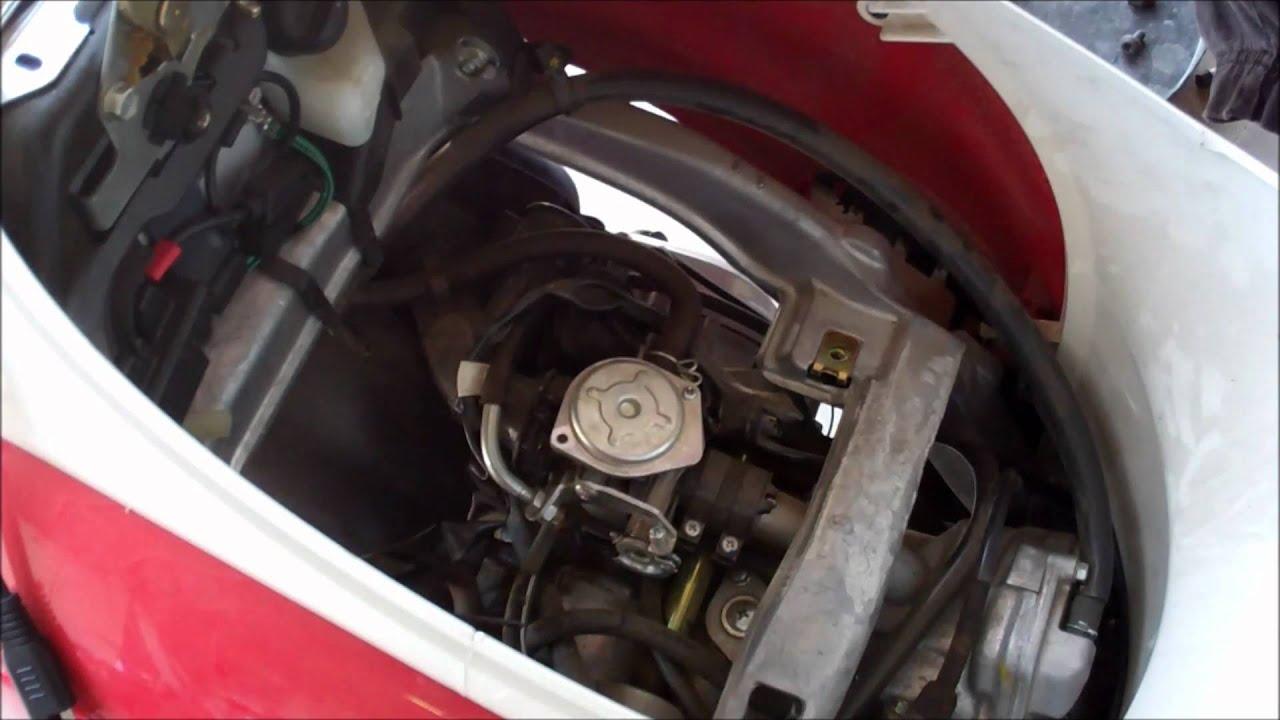 2005 Honda Metropolitan Scooter  Rough Start and No Power