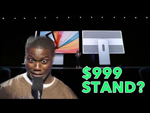 People's reactions to New Apple's $1000 Dollar Pro Display XDR Monitor Stand!