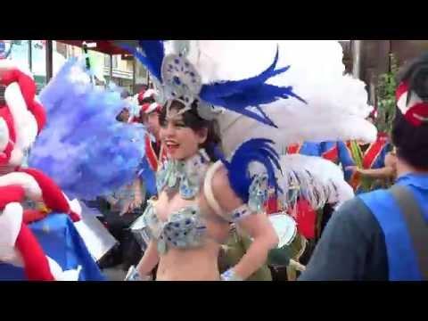 002 豊島七夕まつり 【 ウニアン・ドス・アマドーリス  豊島中央 サンバ パレード 2015 】