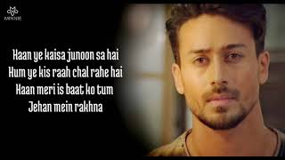 Faaslon Mein Full Song With Lyrics Baaghi 3 | Tiger Shroff, Shraddha Kapoor | Sachet