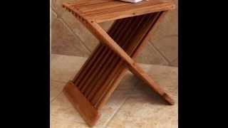Diy Teak Shower Bench Design Ideas  By Pmpub.com