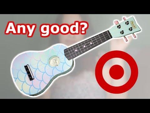 Ukulele From Target!! Any Good? || Target Ukulele Review And Unboxing