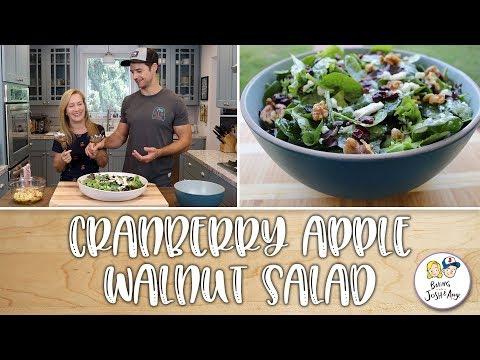 Cranberry Walnut Apple Salad