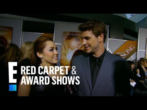 Miley Cyrus & Liam Hemsworth's Red Carpet Debut as a Couple | E! Red Carpet & Award Shows