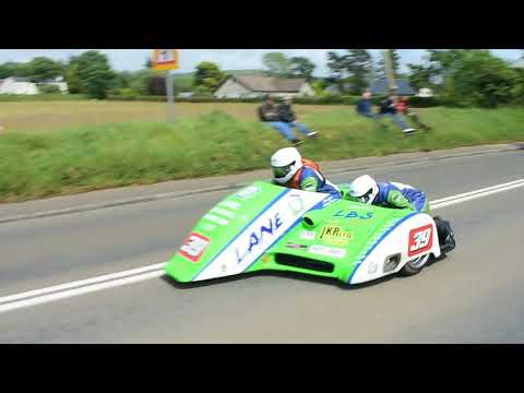 Third Practice/qualifying Isle of Man TT 2019 Road Racing Side cars