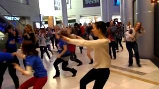 Flash mob Afi Cotroceni-One Billion Rising Bucharest