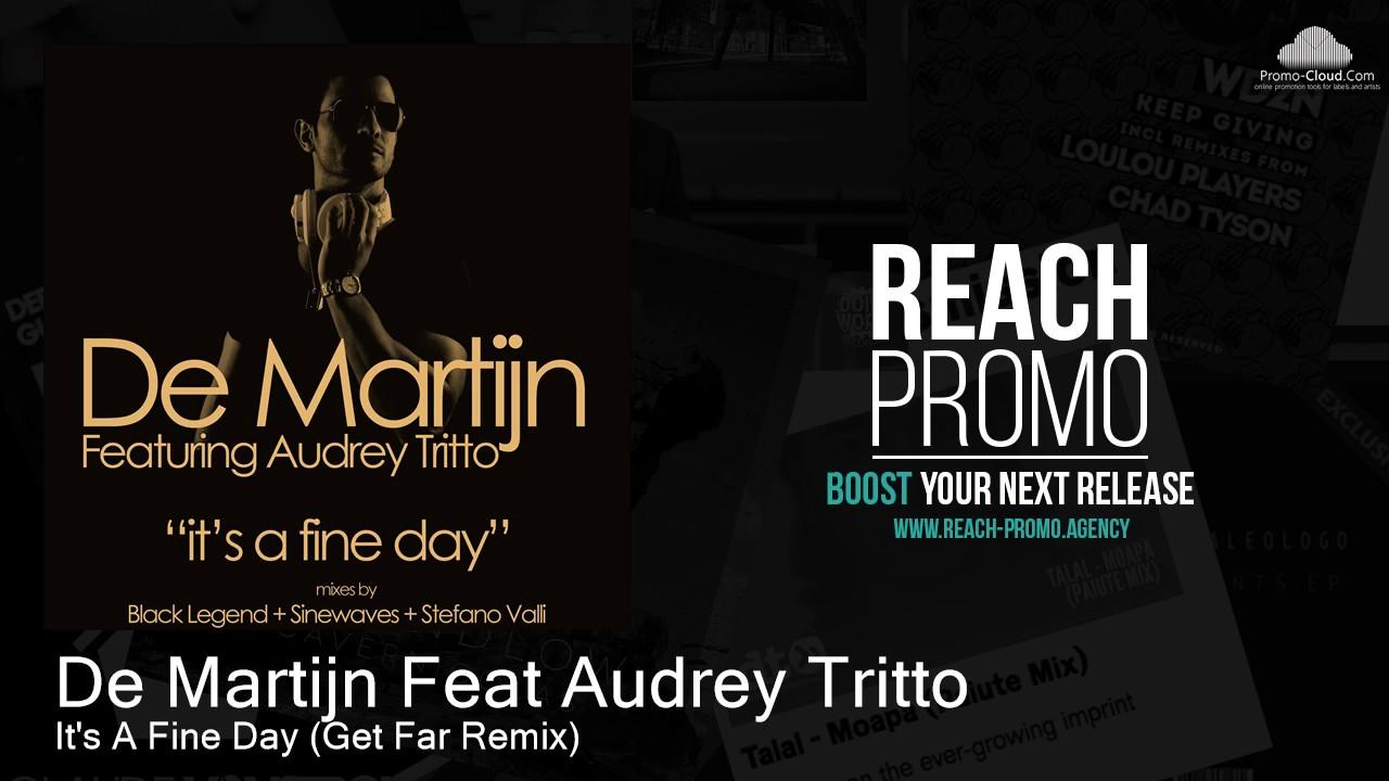 Download UHM005 De Martijn Feat Audrey Tritto - It's A Fine Day (Get Far Remix) [House]