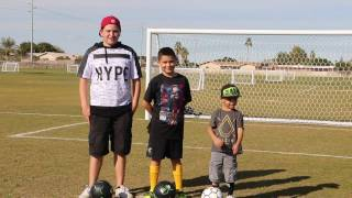 Crossbar Challenge and SKLZ solo soccer trainer