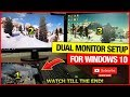 How To Connect Two Monitors To One Laptop (Windows 10-Best & Easiest way)