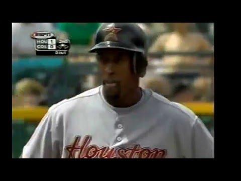 2000 Astros @ Colorado