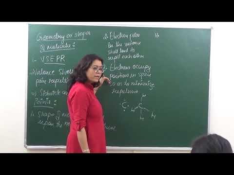 CHEM-XI-4-04 VSEPR Theory (2017) Pradeep Kshetrapal Physics channel