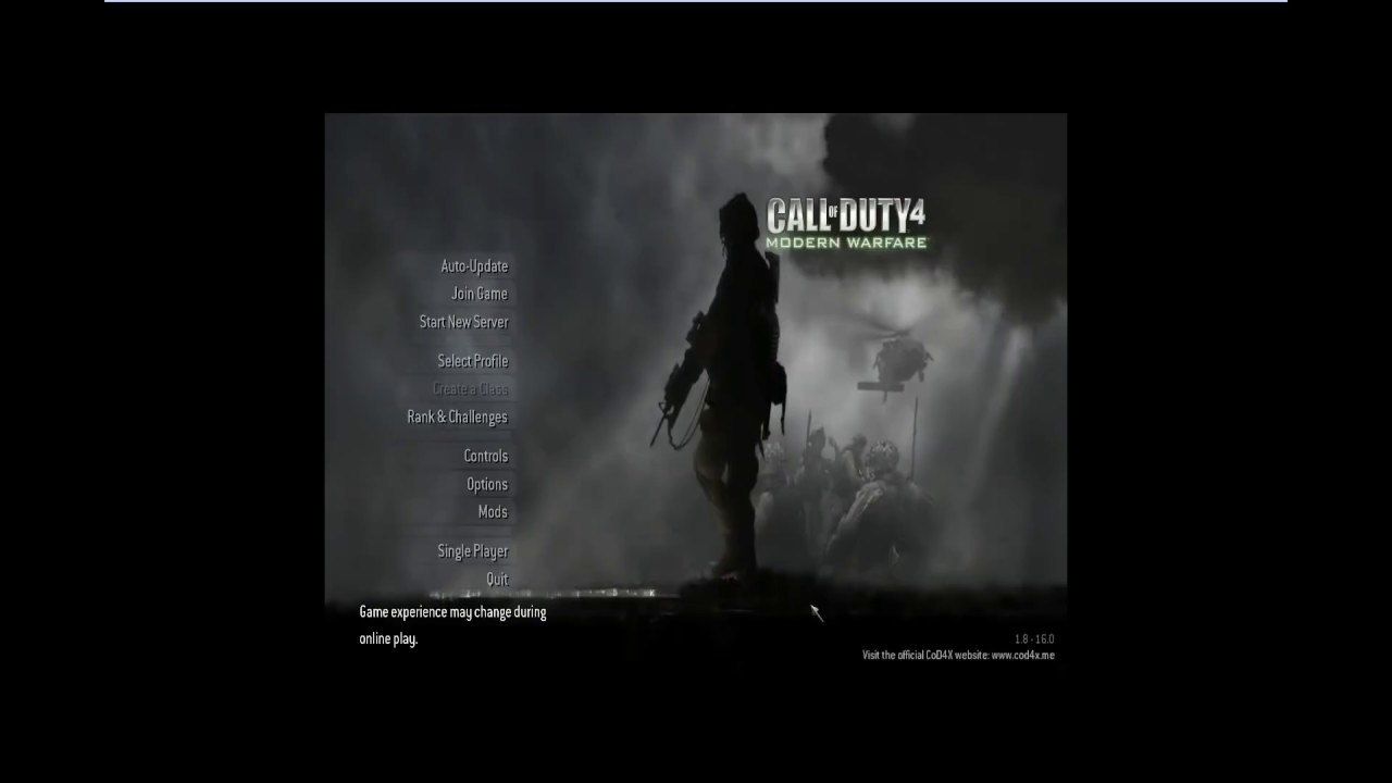 CoD4x 1 8 Client Install Tutorial with Fixes