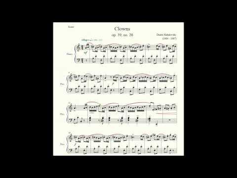 Clowns (op. 39, no. 20) - Dmitri Kabalevsky - Piano Repertoire 3