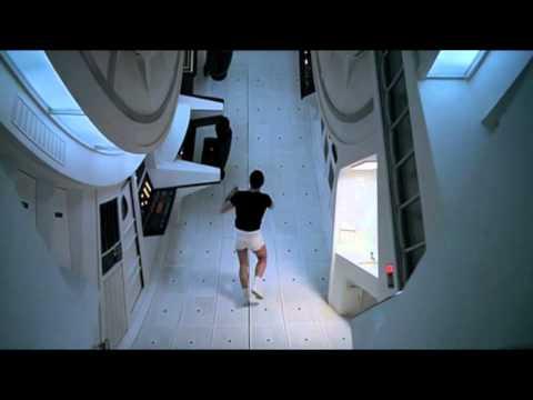 Centripetal Motion - 2001 A Space Odyssey