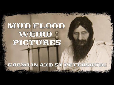 Mud Flood Weird pictures Kremlin and StPetersburg