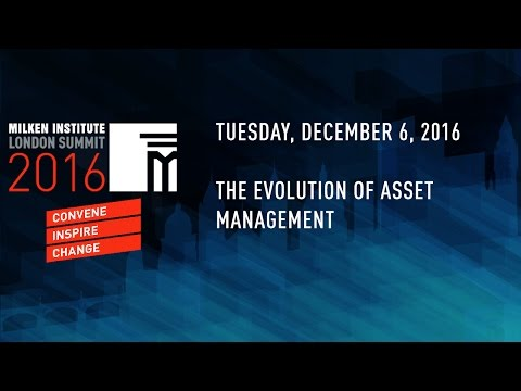 The Evolution of Asset Management