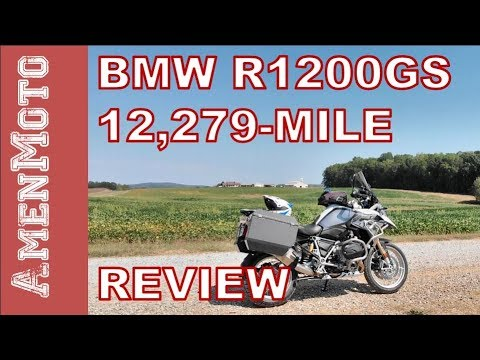 BMW R1200GS 12,279 Mile Review Walkaround   ADV Adventure Motorcycle