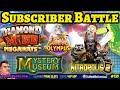 SUBSCRIBER SLOT BATTLE: Dinopolis, Ted Megaways, Jammin Jars & more.