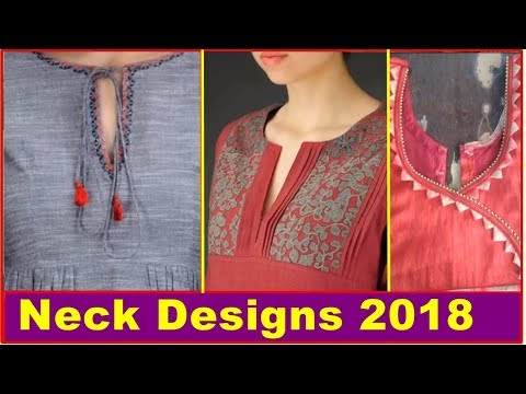 Latest Neck designs 2018 | Photos | images | Pictures | 2018 | Our Glamour