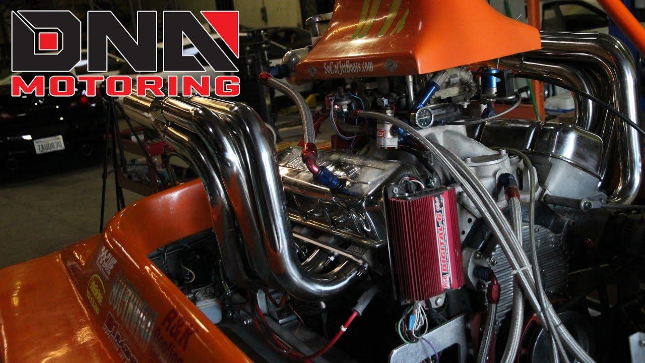 454 Jet Boat Plumbing Wiring Diagram Dna Motoring Chevy Big Block Header Installation 1280x720