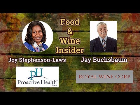 Joy Stephenson-Laws, Proactive Health Labs. Jay Buchsbaum, Royal Wine. Jan 31, 2018