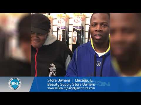 Black Chicago beauty supply store owners review Beauty Supply Institute