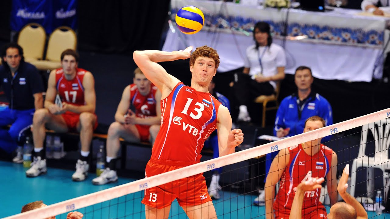19 Years Old Dmitriy Muserskiy | (7'2 ft) 218cm Tall Volleyball Player (HD)