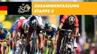Zusammenfassung - Etappe 2 - Tour de France 2018