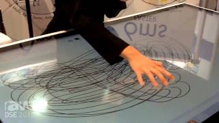 dse 2015   57 pro cap interactive table top 6ms response time