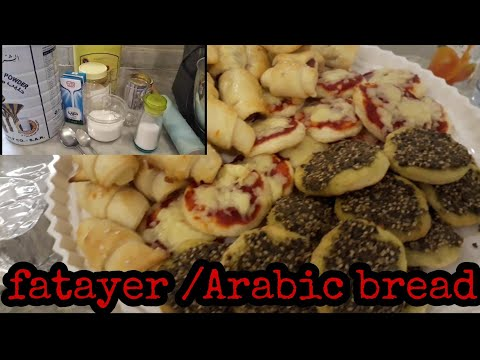 HOW to make fatayer in Arabic style/ lutong middle east/ Ramadan Kareem