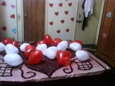 My boyfriend birthday decoration youtube for Room decor ideas for husband birthday