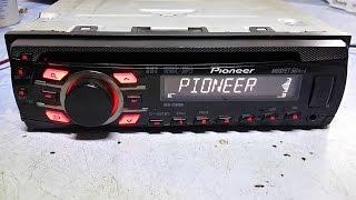 Rádio Pioneer com USB quebrado, adaptando entrada usb para traseira
