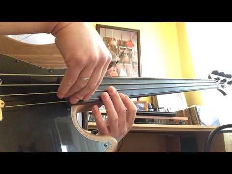 Almost Blue - Chet Baker Solo On Fretless Bass.