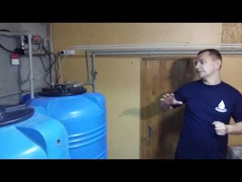 Мини цех по производству очищенной воды