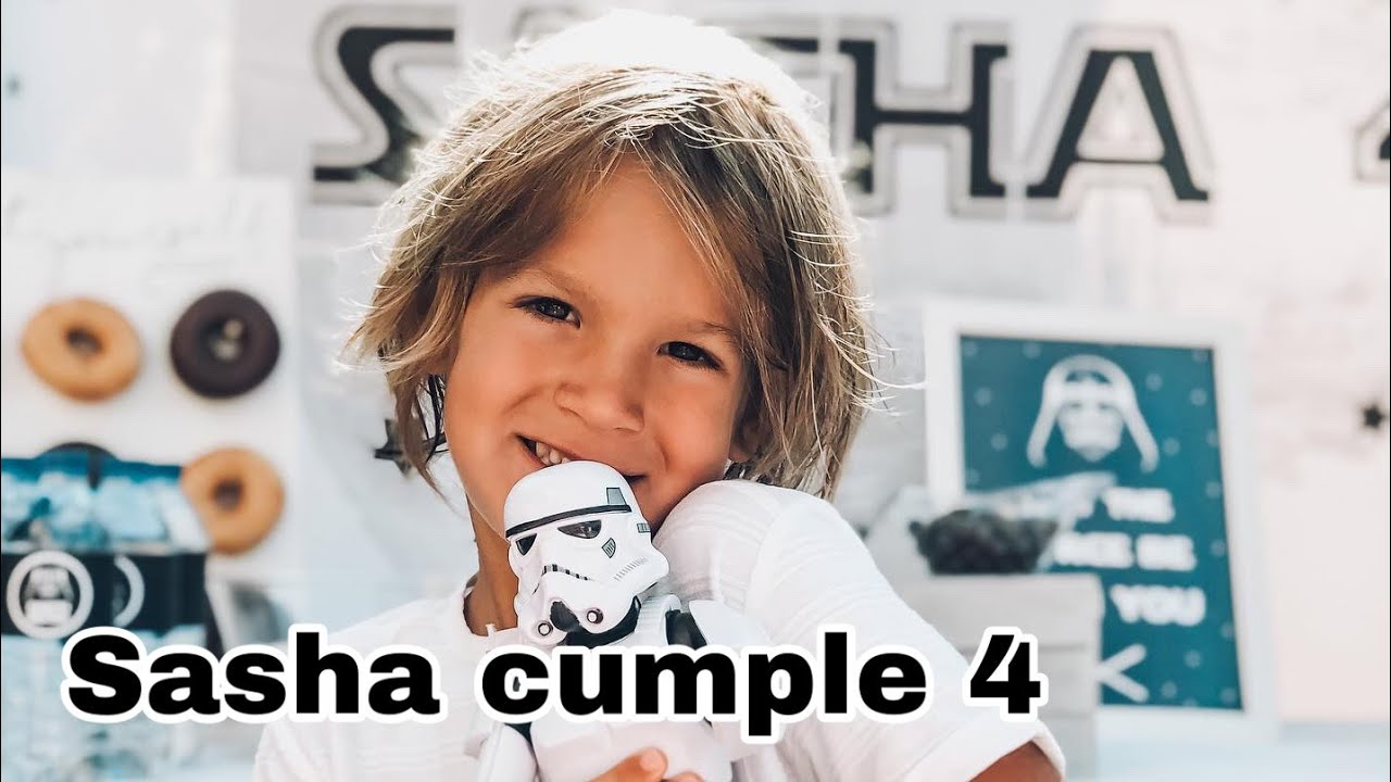 Sasha cumple 4   Fiesta Star Wars