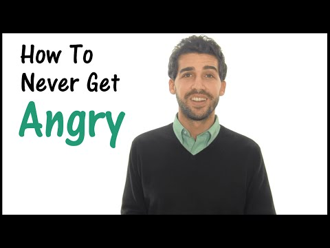 How To Never Get Angry - Anger Management For Everyone