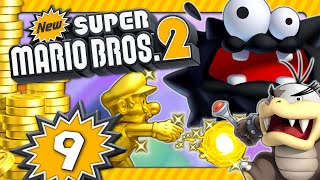 NEW SUPER MARIO BROS. 2 💰 #9: Ekel-Fuzzys, gefräßige Cheep Cheeps & Mortons gewichtige Stampfer