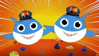 Baby Shark Doo Doo Song + Baby T. Rex + FunForKidsTV Songs Compilation
