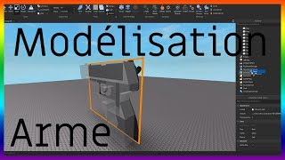 HOW TO MODEL A ARME - ROBLOX STUDIO