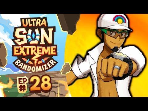 WHAT IS HAPPENING RIGHT NOW?! - Pokémon Ultra Sun Extreme Randomizer Nuzlocke w/ Supra! Episode #28